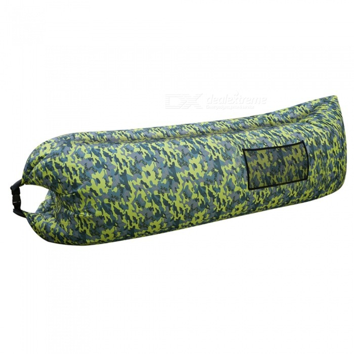 Waterproof Lazy Air Sofa Bed Lounger Inflatable Camping Bag Sleeping Bag - Army GreenSleeping Bags<br>Form  ColorACUModelAS-001Quantity1 pieceBest UseFamily &amp; car camping,Camping,Mountaineering,TravelSeasonsSpring and SummerMaterialPolyesterSleeping Bag ShapeOthers,Pancake StyleTemperature Rating 15 ?FillAirCertificationREACHPacking List1 x Army Green No.2 Sleeping Bag<br>