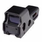 OUMILY Red and Green Dot Sight Airsoft Reflex Sight Supports 20mm Rail Mount - Black