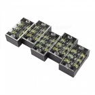 Buy YENISEI TB2503 3-Position Dual Rows 600V 25A Wire Barrier Block Terminal Strip (5 PCS)
