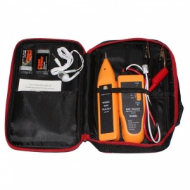 Cable Tester Handheld Line Finder Wire Tracker Cable Check Wire Measuring Instrument for Network Maintenance Collation