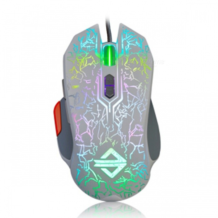AJAZZ GT RGB Portable Programmable USB Wired Gaming Mouse with Breathing Light for Notebook Desktop ComputerGaming Mouse<br>Form  ColorWhiteModelGT RGBQuantity1 pieceMaterialPlastic cementShade Of ColorWhiteInterfaceUSB 3.0,USB 2.0Wireless or WiredWiredOptical TypeLEDBluetooth VersionNoPowered ByUSBBattery included or notNoSupports SystemWin xp,Win 2000,Win 2008,Win vista,Win7 32,Win7 64,Win8 32,Win8 64,MAC OS XCable Length1.6 cmTypeGaming,ErgonomicPacking List1 x Mouse1 x Instruction<br>