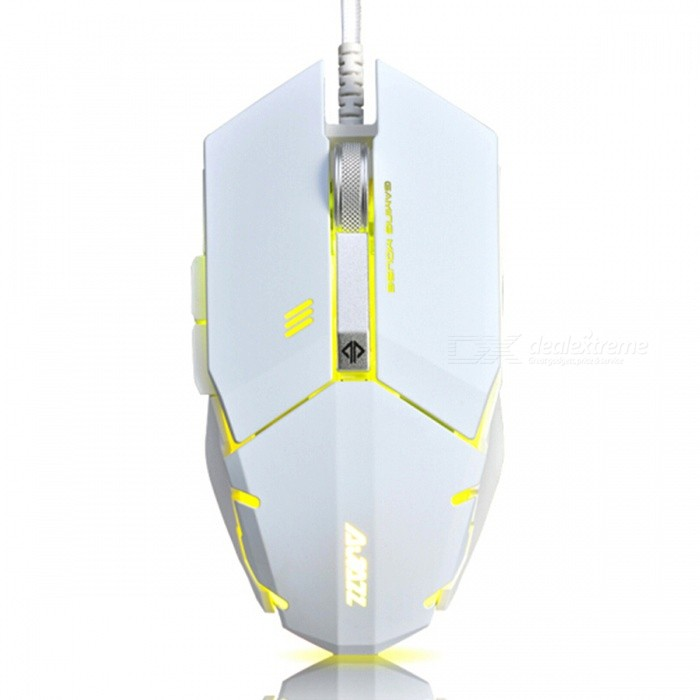 AJAZZ GTC-5050 Mechanical Game Mouse Professional Gaming LOL MouseGaming Mouse<br>Form  ColorWhiteModelGTC-5050Quantity1 pieceMaterialPlasticShade Of ColorWhiteInterfaceUSB 3.0,USB 2.0Wireless or WiredWiredOptical TypeLEDBluetooth VersionNoPowered ByUSBBattery included or notNoSupports SystemWin xp,Win 2000,Win 2008,Win vista,Win7 32,Win7 64,Win8 32,Win8 64,MAC OS XCable Length160 cmTypeGamingPacking List1 x Mouse1 x Instruction<br>