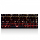 Ajazz AK33 Portable Black Axis 82-Key Mechanical USB Wired Gaming Keyboard with Backlight