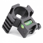 ACCU Aluminum Alloy Tactical 20mm Gun Mount with Spirit Level / Three-Sided 20mm 4 Slots Rail for 30mm Barrels