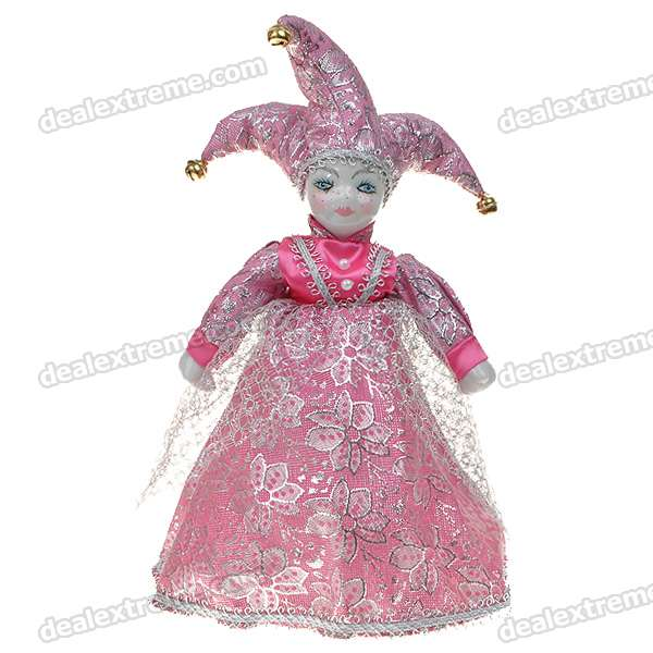 Triangel Doll Came From Love Valentines Gift - Girl (Pink)