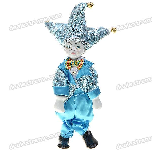 Triangel Doll Came From Love Valentines Gift - Boy (Sky Blue)