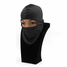 Windproof Balaclava Face Mask Motorcycle Cycling Bike Skiing Military Tactical Paintball Cover - Grey