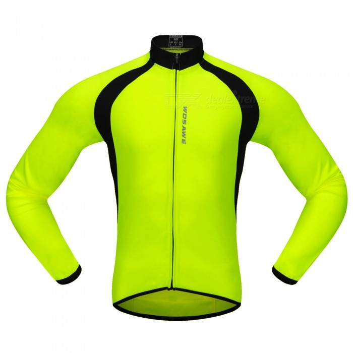 BC228 Sports Long-Sleeve Cycling Jersey - Fluorescent Green (XXL)Form  ColorFluorescent GreenSizeXXLModelBC228Quantity1 DX.PCM.Model.AttributeModel.UnitMaterial100% POLYESTERGenderUnisexSeasonsSpring and SummerShoulder Width15 DX.PCM.Model.AttributeModel.UnitChest Girth118-126 DX.PCM.Model.AttributeModel.UnitSleeve Length56.5 DX.PCM.Model.AttributeModel.UnitWaist0 DX.PCM.Model.AttributeModel.UnitTotal Length0 DX.PCM.Model.AttributeModel.UnitSuitable for Height180-185 DX.PCM.Model.AttributeModel.UnitBest UseCycling,Mountain Cycling,Road CyclingSuitable forAdultsTypeLong JerseysPacking List1 x Long-Sleeve Cycling Jersey<br>