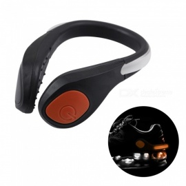 YWXLight LED Luminous Shoe Clip Light, Night Safety Warning Light for Shoes Protector - Orange