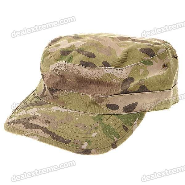 Cool Military Cap Hat - Camouflage (M) military hat flat cap m177