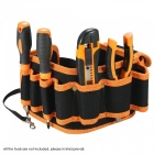 OJADE Multi-Functional Waist Tool Bag Pocket Pouch Organizer for Carpenter Hammer Electrician