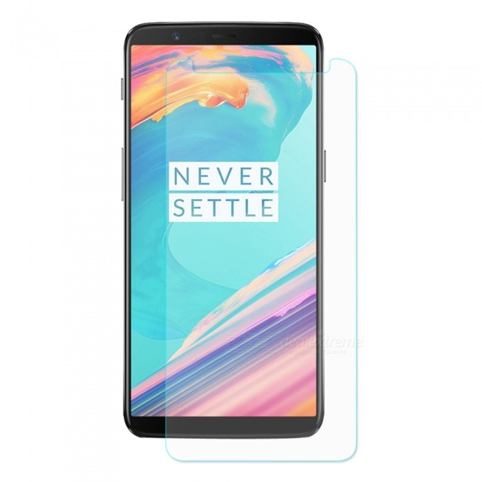ENKAY 2.5D Tempered Glass Screen Protector for OnePlus 5TScreen Protectors<br>Form  ColorTransparentScreen TypeGlossyModel-MaterialTempered glassQuantity1 DX.PCM.Model.AttributeModel.UnitCompatible ModelsOnePlus 5TFeatures2.5D,HD,Scratch-proof,Tempered glassPacking List1 x Screen protector1 x Dust remover1 x Cleaning cloth1 x Alcohol prep pad<br>