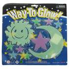 10-in-1 Glow-in-the-Dark Stars Moon & Sun Stickers - Color Assorted (6-Pack)