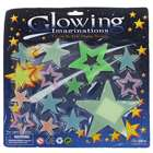 14-in-1 Glow-in-the-Dark Stars Stickers - Color Assorted (6-Pack)