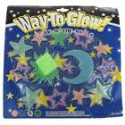 14-in-1 Glow-in-the-Dark Stars Moon & Sun Stickers - Color Assorted (6-Pack)