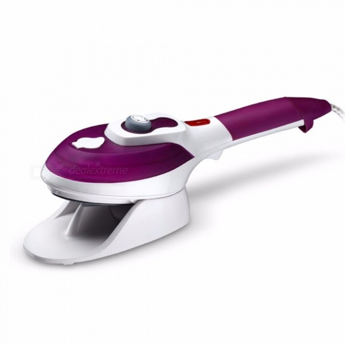 Maikou 800W Hand-held Electric Garment Steamer, Steam Iron w/ Multi-Gear Temperature Adjustment - PurpleLifestyle Gadgets<br>Form  ColorWhite + Purple + Multi-ColoredModelSJ-2178MaterialABSQuantity1 DX.PCM.Model.AttributeModel.UnitPacking List1 x Electric steam iron2 x Brush heads1 x Glass measuring1 x User manual<br>