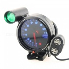 "IZTOSS B1116 Car Modified 3.15"" 80mm Tachometer with Warning Light"