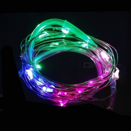 Mini Waterproof LED Wheel Lamp for Bicycle Nocturnal Riding - Multi-color