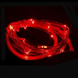 Mini Waterproof LED Wheel Lamp for Bicycle Nocturnal Riding - Red