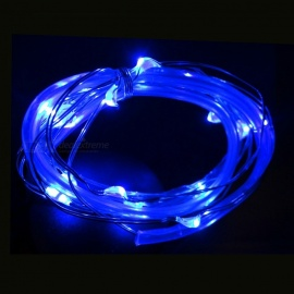 Mini Waterproof LED Wheel Lamp for Bicycle Nocturnal Riding - Blue