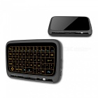 H18+ 2.4GHz Mini Wireless Keyboard Air Mouse with Blacklit Touchpad