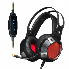 AJAZZ AX361 Virtual 7.1 3.5mm Wired Game Headset Headphone with USB Interface, Microphone