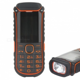 "A5000 + 2.4 ""GSM Handy mit Taschenlampe, Power Bank-orange"