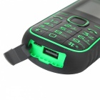 "A5000+ 2.4"" GSM Mobile Phone w/ Flashlight, Power Bank - Green"