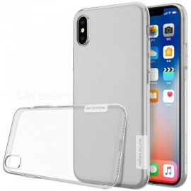 Funda protectora TPU nillkin soft para apple IPHONE X - transparente