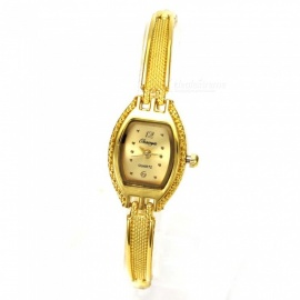 Chaoyada 1151 Rhinestone Bracelet Women's Quartz Watch - Golden