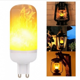 G9 SMD2835 68-LED 4W 1400-1800K Atmosphere Decorative Flickering Flame Lamp (AC85 - 265V)