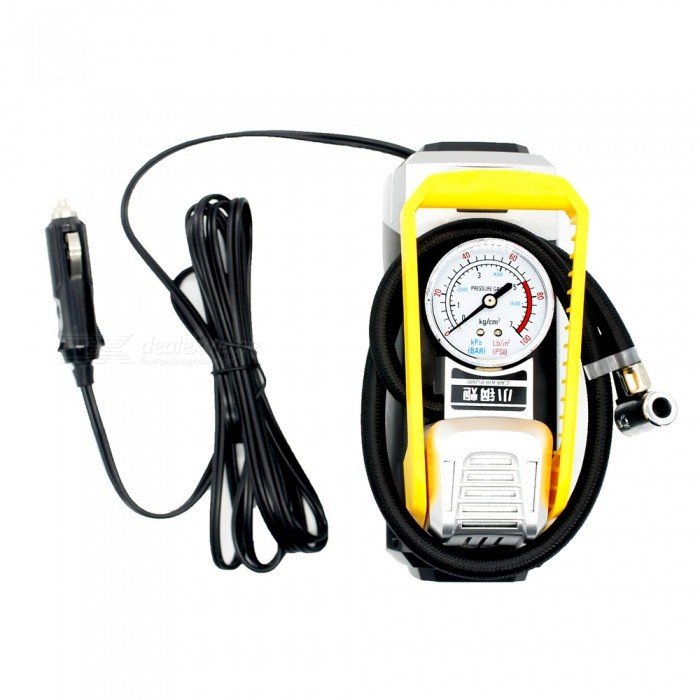 IZTOSS AP2835 Portable Pointer Type Car Inflatable Pump without LightOther Gadgets<br>Form  ColorPointer Type without LightModelAP2835Quantity1 DX.PCM.Model.AttributeModel.UnitMaterialPlastic + metalShade Of ColorBlackPower Supply12VPacking List1 x Inflator<br>