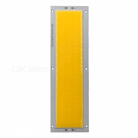 ZHAOYAO 120x36mm 10W DC 12-14V chip LED COB dimmerabile-luce bianca calda
