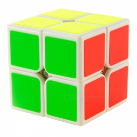 YJ yupo 50mm 2x2x2 liscio speed magic cube puzzle per bambini, adulti - bianco