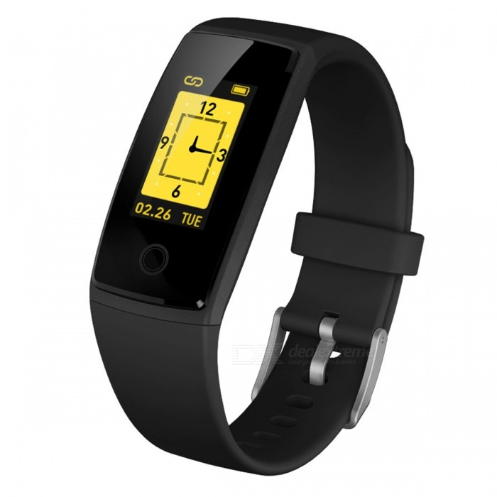 V10 Colorful Screen Bluetooth Smart Bracelet w/ Heart Rate Blood Pressure Monitor, Pedometer, IP67 WaterproofSmart Bracelets<br>Form  ColorBlackModelV10Quantity1 DX.PCM.Model.AttributeModel.UnitMaterialPCShade Of ColorBlackWater-proofIP67Bluetooth VersionBluetooth V4.0Touch Screen TypeOthers,OLEDOperating SystemAndroid 4.4,iOSCompatible OSAndroid IOSBattery Capacity150 DX.PCM.Model.AttributeModel.UnitBattery TypeLi-ion batteryStandby Time7 DX.PCM.Model.AttributeModel.UnitPacking List1 x Smart Bracelet1 x User handbook1 x Packing box<br>