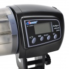 RESUN AF-2005D Automatic Fish Feeder with Digital LCD Timer - Black