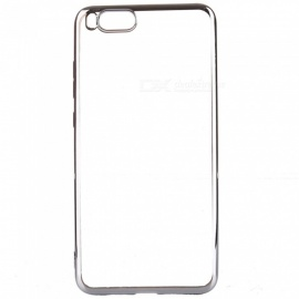 ASLING Transparent Back Case Electroplating TPU Soft Cover Protector for Xiaomi Note 3