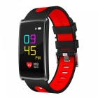 HM68 PLUS Waterproof Color Screen Smart Bracelet w/ Step By Step Multi-Sport Mode, Heart Rate Blood Pressure Monitor - Red