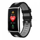 HM68 PLUS Waterproof Color Screen Smart Bracelet w/ Step By Step Multi-Sport Mode, Heart Rate Blood Pressure Monitor - Grey