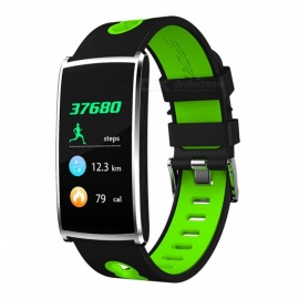 HM68 PLUS Waterproof Color Screen Smart Bracelet w/ Step By Step Multi-Sport Mode, Heart Rate Blood Pressure Monitor - Green