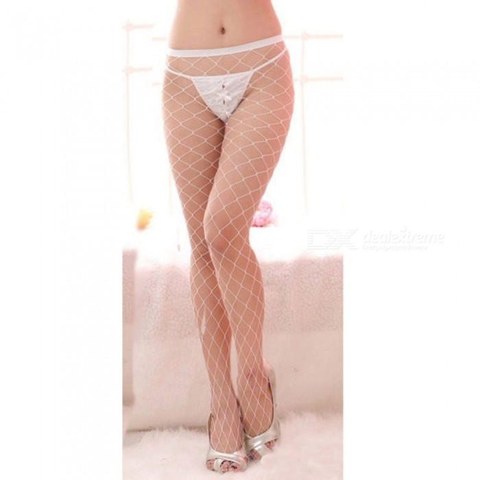 Fanshimite Sexy Translucent Thin Crotchless Stockings for Women - WhiteSocks and Leg wear<br>Form  ColorWhiteModelZJ001145Quantity1 pieceShade Of ColorWhiteMaterialSpandexStyleFashionSeasonsFour SeasonsSock Length of Foot23 cmSock Girth of Foot22 cmSock Length of Leg80 cmSock Girth of Leg40 cmPacking List1 x Stockings<br>
