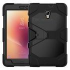 Full body protective case with built-in screen protector for samsung galaxy tab a 8.0 sm-t385/t380