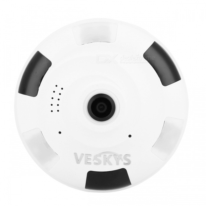 Camera White Light: VESKYS 1080P 2.0MP 360 Degree HD Full View IP Network