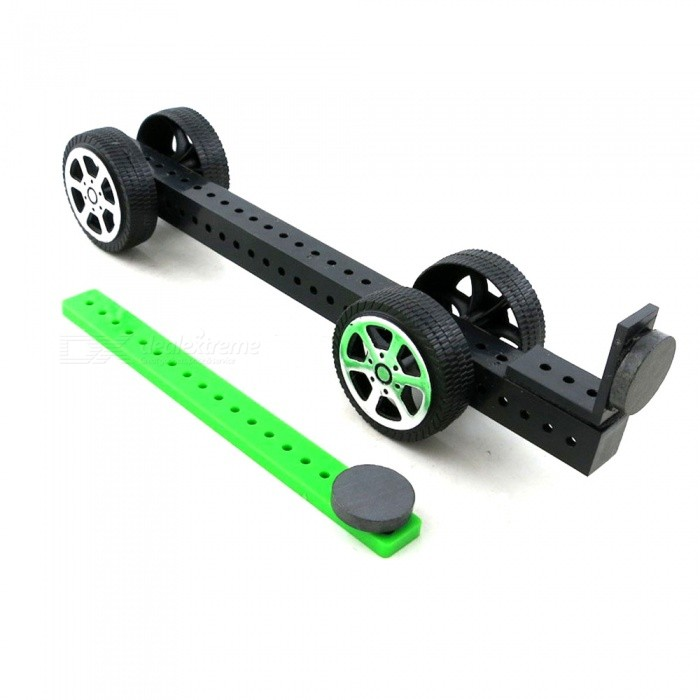 DIY Magnetic Assembly Car Puzzle Creative Toy for KidsEducational Toys<br>Form  ColorBlack + GreenMaterialABS plasticQuantity1 DX.PCM.Model.AttributeModel.UnitSuitable Age 5-7 years,8-11 years,12-15 yearsPacking List1 x DIY Kit magnetic assembly car<br>