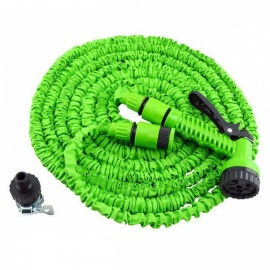 P-TOP 50FT Magic Expandable Flexible Telescopic Retractable Water Hose for Garden, Car - Green