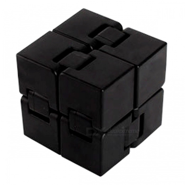 ABS Folding Rubik Magic Cube, Stress Relief Toy - BlackStress Relievers<br>Form  ColorBlackMaterialABSQuantity1 DX.PCM.Model.AttributeModel.UnitShape StyleSquareSuitable Age 3-4 years,5-7 years,8-11 years,12-15 years,Grown upsPacking List1 x Rubik Cube<br>