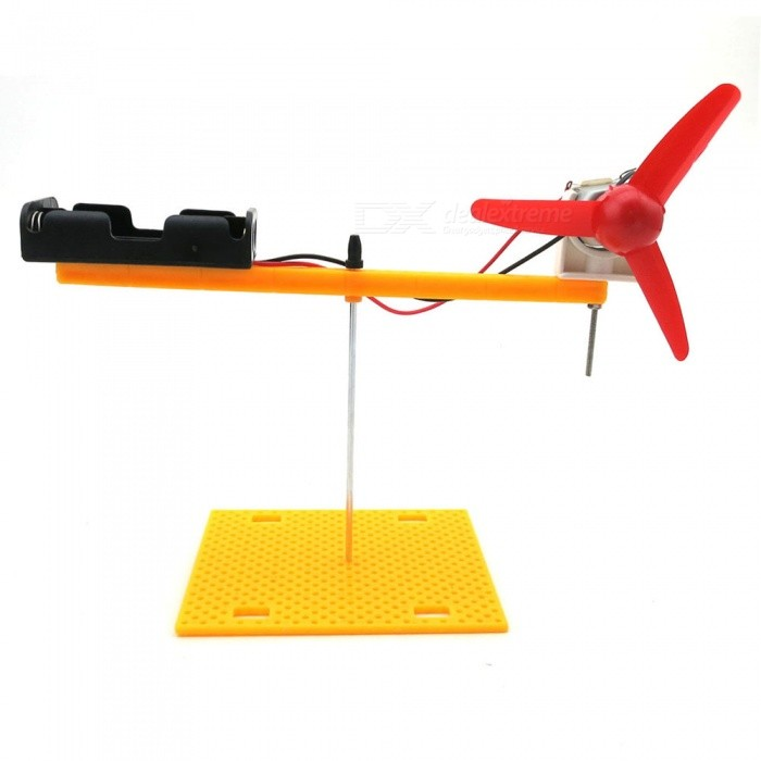DIY Hand-Made Science Aerobics Demonstration Rotating Wing Model Kit for KidsEducational Toys<br>Form  ColorYellow + MulticolorMaterialABS plasticQuantity1 DX.PCM.Model.AttributeModel.UnitSuitable Age 5-7 years,8-11 years,12-15 yearsPacking List1 x DIY Rotor Wing Model Kit<br>