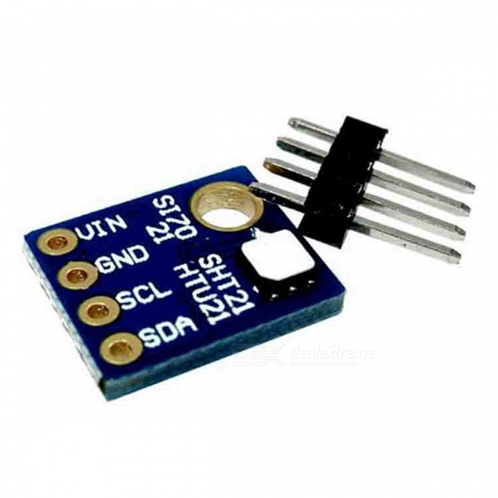 Produino Si7021 Industrial High Precision Humidity Sensor I2C Interface for Arduino ST