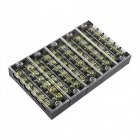 Buy YENISEI TB2506 6-Position Dual Rows 600V 25A Wire Barrier Block Terminal Strip (5 PCS)