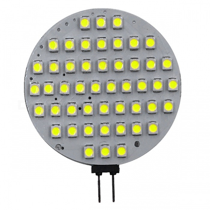 ZHAOYAO G4 6W AC/DC-12V 2835 SMD 48-LED Light - White LightG4<br>Color BINCold WhiteMaterialPCBForm  ColorWhiteQuantity1 DX.PCM.Model.AttributeModel.UnitPower6WRated VoltageOthers,AC/DC-12V DX.PCM.Model.AttributeModel.UnitConnector TypeG4Chip Type2835Emitter TypeOthers,2835SMD LEDTotal Emitters48Actual Lumens300-550 DX.PCM.Model.AttributeModel.UnitColor Temperature6000KDimmableNoBeam Angle180 DX.PCM.Model.AttributeModel.UnitOther Features5500-7000KPacking List1 x LED<br>
